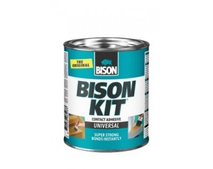 Bison kit contact adhesive...