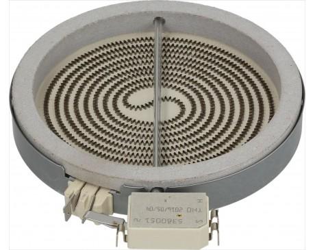 Grejna ploča za ravnu ploču fi140mm 1200w  Whirlpool 481231018887