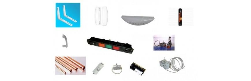 Delovi za rashladu oprema za ugradnju klima uređaja